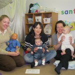 Baby Massage at Miles House Nursery